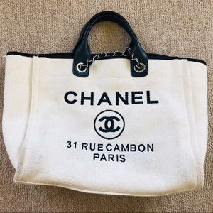 7ac0ca617711 Women Chanel Deauville Bag on Poshmark